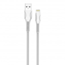 ДАТА КАБЕЛЬ COLORWAY USB 2.0 AM TO LIGHTNING 1.0M LINE-DRAWING WHITE (CW-CBUL027-WH)
