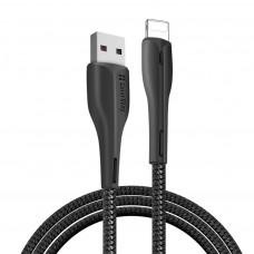 ДАТА КАБЕЛЬ COLORWAY USB 2.0 AM TO LIGHTNING 1.0M LED BLACK (CW-CBUL034-BK)