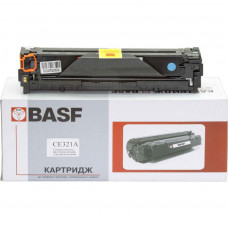 Картридж BASF для HP CLJ CP1525n/CM1415fn аналог CE321A Cyan (KT-CE321A)