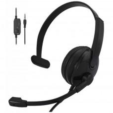 НАВУШНИКИ 2E CH12 MONO ON-EAR 3.5MM / 2*3.5MM (2E-CH12MJ)