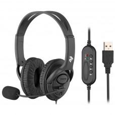 НАВУШНИКИ 2E CH13 OVER-EAR USB (2E-CH13SU)