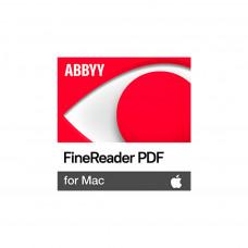 ПЗ ДЛЯ РОБОТИ З ТЕКСТОМ ABBYY FINEREADER PDF FOR MAC, SINGLE USER LICENSE (ESD), PERPETUAL (FR15XM-FMPL-X)